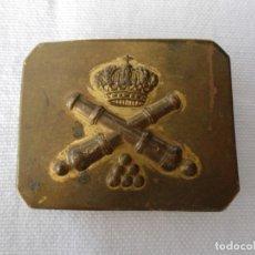 Militaria: PEQUEÑA HEBILLA DE ARTILLERIA. Lote 179153666
