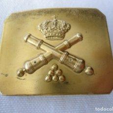 Militaria: PEQUEÑA HEBILLA DE ARTILLERIA. Lote 179153843