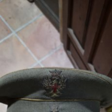 Militaria: GORRA DE PLATO DEL EJÉRCITO ESPAÑOL DE ALFÉREZ, TALLA APROXIMADA 57. Lote 179184151