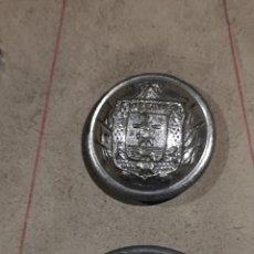 Militaria: DOS BOTONES DE VIZCAYA MUESTRARIO, ÉPOCA DE ALFONSO XIII. Lote 179192022