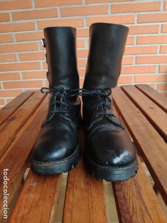 Militaria: Botas segarra 3 hebillas ejército español años 70 80 talla 43 - Foto 2 - 179192066