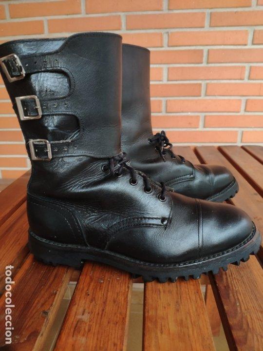 Militaria: Botas segarra 3 hebillas ejército español años 70 80 talla 43 - Foto 5 - 179192066