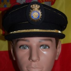 Militaria: GORRA DE PLATO INSPECTOR JEFE POLICIA NACIONAL/GORRA DE GALA POLICIA NACIONAL (DESCATALOGADA). Lote 179192127