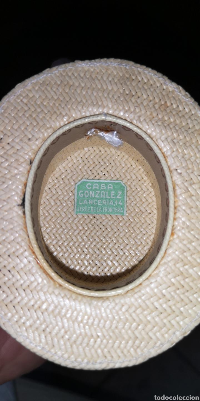 Militaria: Antigua miniatura de sombrero de canotier - Foto 4 - 179219917