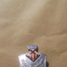 Militaria: ANTIGUA PLACA GUARDIA URBANA DE HOSPITALET DEL LLOBREGAT - 5,3X3,7 CM. . Lote 179318282