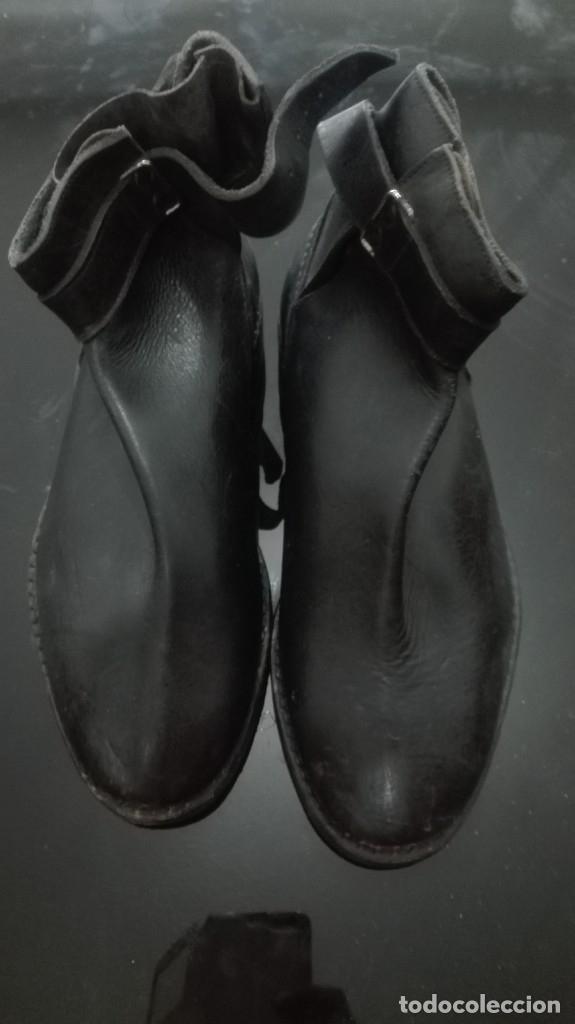 Militaria: Borceguies para tropa reglamento 1943 nuevos sin uso. - Foto 3 - 179944501