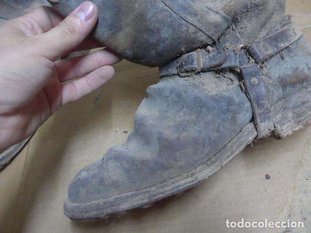 Militaria: * Antigua pareja de botas de la guerra civil, original. ZX - Foto 14 - 179950087