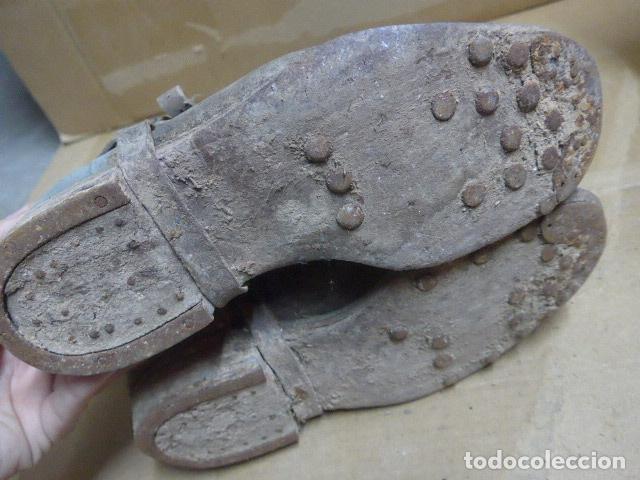 Militaria: * Antigua pareja de botas de la guerra civil, original. ZX - Foto 17 - 179950087