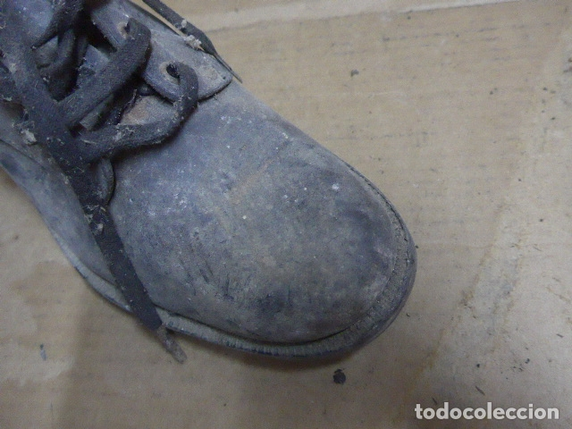 Militaria: * Antigua pareja de botas o botines de la guerra civil, original. ZX - Foto 6 - 179951165