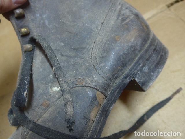 Militaria: * Antigua pareja de botas o botines de la guerra civil, original. ZX - Foto 13 - 179951165