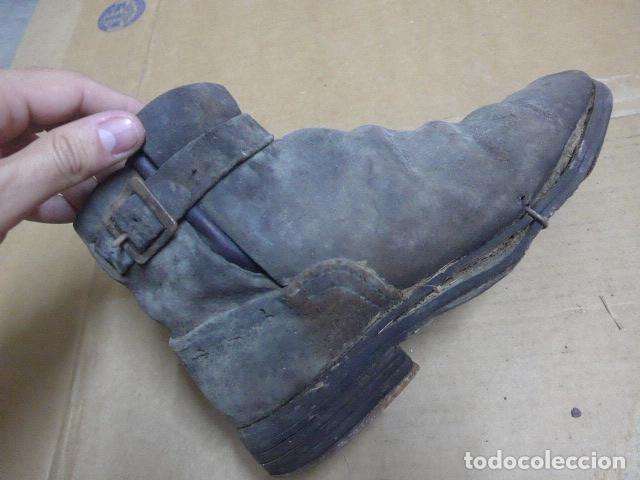 Militaria: * Antigua pareja de botas o botines de la guerra civil, original. ZX - Foto 11 - 179952797