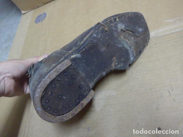 Militaria: * Antigua pareja de botas o botines de la guerra civil, original. ZX - Foto 13 - 179952797