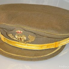 Militaria: GORRA MILITAR PLATO. EJÉRCITO ESPAÑOL. AÑOS 80. CASA RUSI CÓRDOBA. TALLA 59 APROX. 210GR. Lote 180131582