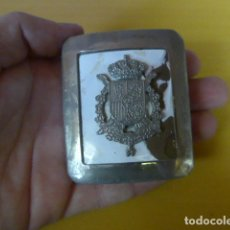 Militaria: * ANTIGUA HEBILLA DE LA GUARDIA REAL, ORIGINAL. ZX. Lote 205677660