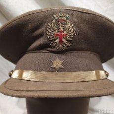 Militaria: ORIGINAL GORRA DE ALFÉREZ REGLAMENTO 43, FRANQUISTA.. Lote 180177960
