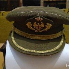 Militaria: GORRA PLATO OFICIAL. Lote 180337867