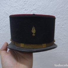 Militaria: ANTIGUA GORRA KEPI FRANCES BORDADO EN DORADO, ORIGINAL. FRANCIA.. Lote 180413353
