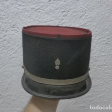 Militaria: ANTIGUA GORRA KEPI FRANCES BORDADO EN PLATEADO, ORIGINAL. FRANCIA.. Lote 180415233