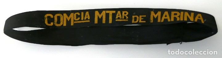ARMADA ESPAÑOLA. CINTA DE LEPANTO. COMANDANCIAS MILITARES DE MARINA (Militar - Otros relacionados con uniformes )