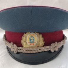 Militaria: ANTIGUA GORRA PLATO MILITAR.. Lote 180508908