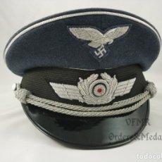 Militaria: GORRA DE OFICIAL DE LA LUFTWAFFE. Lote 180947161