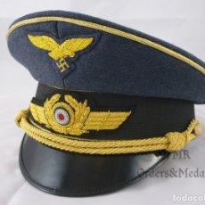 Militaria: GORRA DE GENERAL DE LA LUFTWAFFE. Lote 180959578