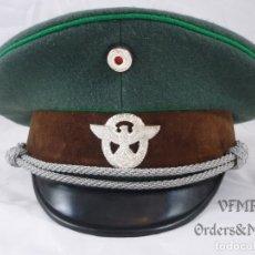 Militaria: III REICH - GORRA DE OFICIAL DE LA POLICÍA. Lote 180959988