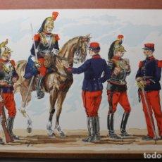 Militaria: SEIS CARTELES HEERE DER VERGANGENHEIT, 1969. Lote 181088610