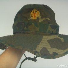 Militaria: CHAMBERGO O PAMELA DEL EJERCITO ESPAÑOL, MIMETIZADO BOSCOSO. SIN USAR. Lote 181100683