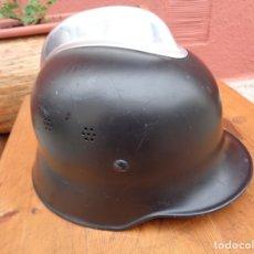 Militaria: CASO ALEMAN DE BOMBERO, METAL, ANTIGUO. Lote 181323353