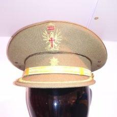 Militaria: GORRA DE PLATO COMANDANTE DE INGENIEROS EJERCITO ESPAÑOL.EPOCA JUAN CARLOS I. Lote 181434986