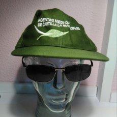 Militaria: GORRA GUARDA FORESTAL , AGENTE MEDIOAMBIENTAL. Lote 181506647