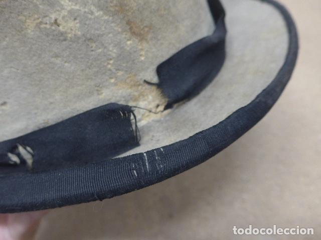 Militaria: Antiguo gorro o sombrero español, tipo de copa, Años 30 - 40. Original. - Foto 9 - 181568000