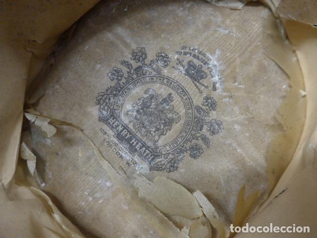 Militaria: Antiguo gorro o sombrero español, tipo de copa, Años 30 - 40. Original. - Foto 12 - 181568000