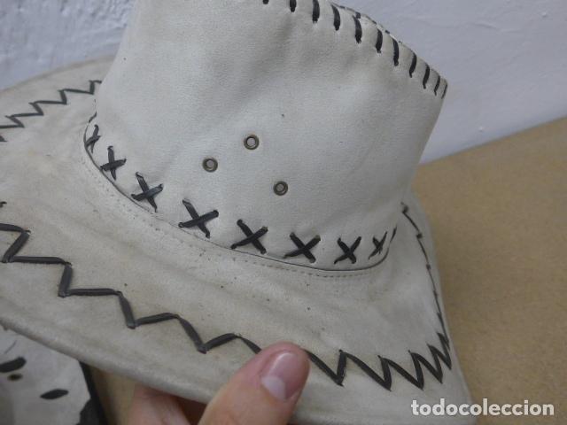 Militaria: Lote 2 sombrero de cowboy en tela, del oeste. - Foto 3 - 181568243