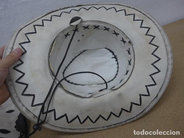 Militaria: Lote 2 sombrero de cowboy en tela, del oeste. - Foto 4 - 181568243