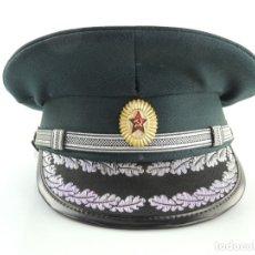 Militaria: ANTIGUO GORRO DE OFICIAL RUSO USSR AUTENTICO DE LA ERA COMUNISTA MUY BUEN ESTADO RARO. Lote 181998835