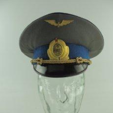 Militaria: ANTIGUO GORRO DE OFICIAL DE FERROVIARIOS AUTENTICO DE LA ERA COMUNISTA MUY BUEN ESTADO RARO. Lote 181999148