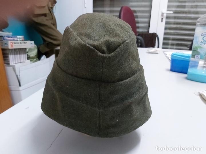 Militaria: Gorra alemana lana Feldgrau m43,talla 61 original - Foto 9 - 171466499