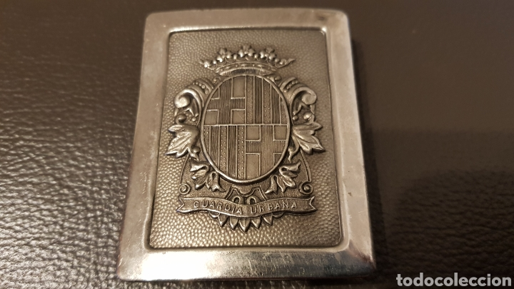 Militaria: ANTIGUA HEBILLA CINTURON DE LA GUARDIA URBANA - Foto 2 - 182345476