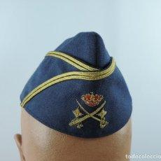 Militaria: GORRILLO GENERAL DIVISION AVIACION EJERCITO DEL AIRE. GORRO. GORRA. MUY RARO. FABRICADA POR HIJO DE . Lote 182469102