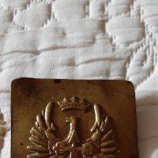 Militaria: HEBILLA MILITAR ESPAÑOLA. Lote 182705415