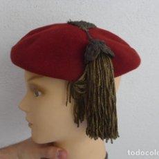 Militaria: * ANTIGUA ESPECTACULAR BOINA CARLISTA DE SIGLO XIX, ORIGINAL. CARLISMO. ZX. Lote 182788321