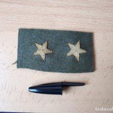 Militaria: ESTRELLAS MILITARES 5 PUNTAS SUBTENIENTE PARA UNIFORME UNIFORMIDAD EJÉRCITO POLICÍA ARMADA NACIONAL. Lote 182834720