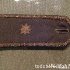 Militaria: ANTIGUA HOMBRERA MILITAR COMANDANTE . Lote 182902046