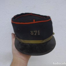 Militaria: ANTIGUO KEPI BORDADO REGIMIENTO 371 FRANCES, ORIGINAL, II GUERRA MUNDIAL. FRANCIA.. Lote 183492205