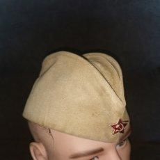Militaria: GORRO GARRISON. ORIGINAL URSS. AÑOS 80. Lote 183679832