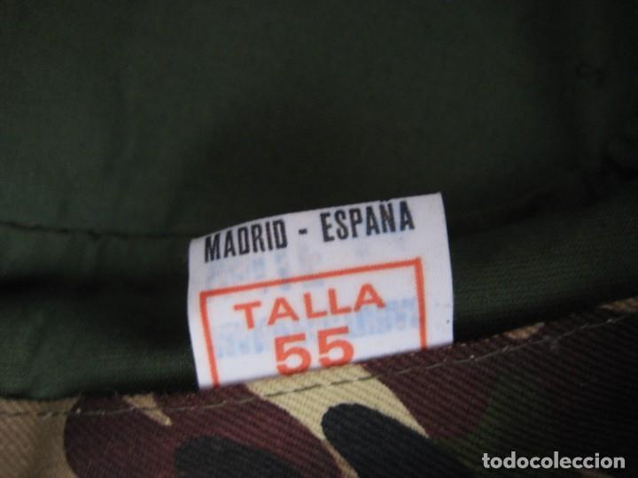 Militaria: Gorra COEs-BRIPAC-LEGIÓN. 1980. Talla 55. - Foto 6 - 183738910