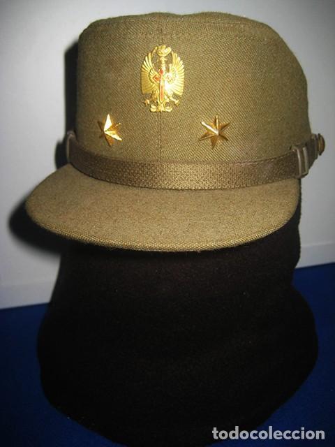 GORRA DE PASEO UNIFORME DE DIARIO. MOD. R-67. TENIENTE DEL EJÉRCITO DE TIERRA. TALLA 55. AÑO 1976-80 (Militar - Boinas y Gorras )