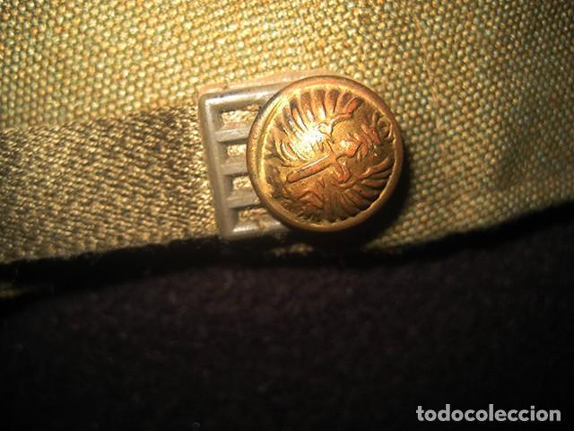 Militaria: Gorra de paseo Uniforme de Diario. Mod. R-67. Teniente del Ejército de Tierra. Talla 55. Año 1976-80 - Foto 4 - 183740446